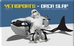 Il gioco dello Yeti parte 2 - Orca Slap Yeti, pinguino e orca