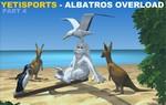 Il gioco dello Yeti parte 4 - Albatros Overload Yeti, pinguino, gabbiano e canguro (Australia)