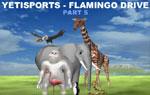 Il gioco dello Yeti parte 5 - Flamingo Drive Lo Yeti in Africa